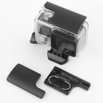 Harga TaisionMY Plastic GoPro Snap Latch Go Pro Backdoor Clip Lock Buckle for GoPro Hero 3+ 4 Camera Waterproof Housing Case - intl