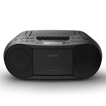Harga Sony Singapore CFD-S70 Cassette Tape and CD Player with Radio (Black)