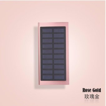 Harga Mobile Solar Power Bank 50000 mAh (Rose Gold)