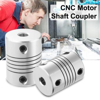 Harga 2pcs CNC Motor Shaft Coupler 5mm to 8mm Flexible Coupling 5 x 8 x 25mm TE490