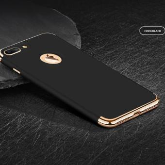 Harga Premium Quality Luxury look IPhone7 Apple IPhone 7phone case cover protective shell-Cool Black
