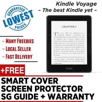 Harga Kindle Voyage 2016 Amazon + Black Cover + Screen Protector