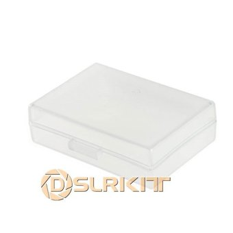Harga 5pcs/Lot White Hard Plastic Case Holder Storage Box for Battery EN-EL14 EN-EL9 PSBLS1...... - intl