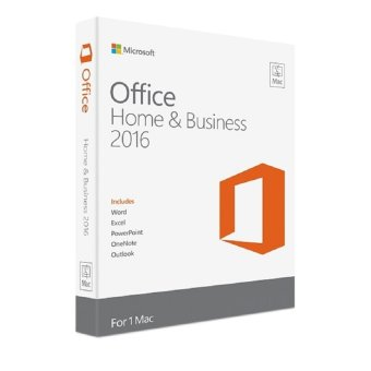 Harga Microsoft Office Home and Business 2016 Medialess for MAC W6F-00579