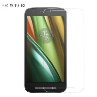 Harga 9H HD Clear Tempered Glass Screen Protector Film For Motorola Moto E (3rd gen) / MOTO E3 - intl