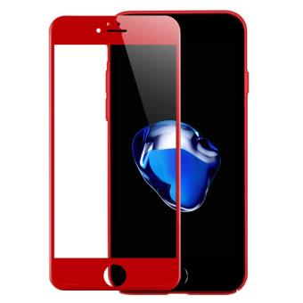 Premium 3D Full Cover Edge 9H Hardness Film Tempered Glass For iPhone 6 / 6s 4.7 Inch Screen Protector Glass (Red) - intl