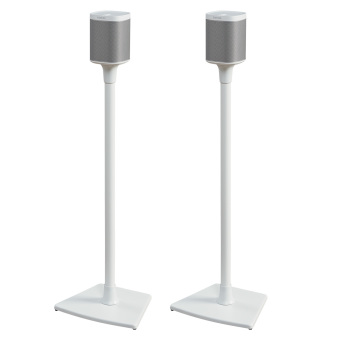 Harga Sonos Stereo Pair Play:1 White + Sanus Stands