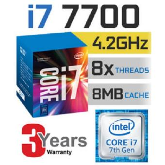 Harga New 7th Gen Intel® Core™ i7-7700 Processor up to 4.50 GHz 4 core 8 threads