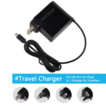 Harga Siu Hong 19V 1.75A 33W Ac Laptop Power Adapter Travel Charger For Asus Eeebook X205T X205Ta Us+Uk+Eu+Au Plugs In 1 Package