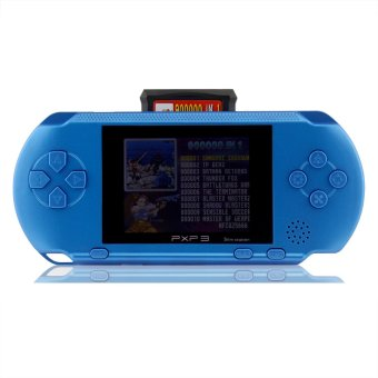 Harga PXP3 Game Console Handheld Portable 16bit Retro Video Game Player (sky blue) - intl