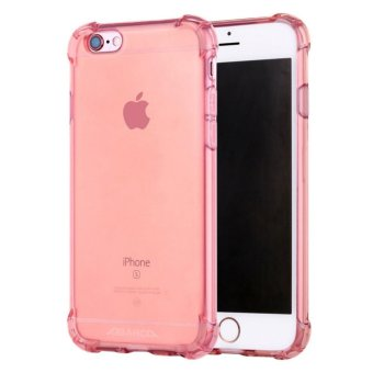 Harga Anti-shock Silicone TPU back cover case for Apple iPhone 6S Plus/ 6 Plus (Rose Gold) - intl