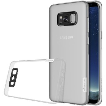 Nillkin silicone case for Samsung Galaxy S8+ silicone cover Luxury TPU Clear cover for Samsung Galaxy S8 Plus Back Cover - intl