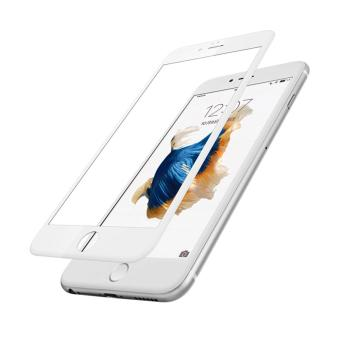 Baseus 0.23MM 3D 9H White Tempered Glass for iPhone 6 / 6S Plus Full Cover
