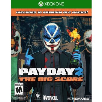 Harga XBox One Payday 2 The Big Score