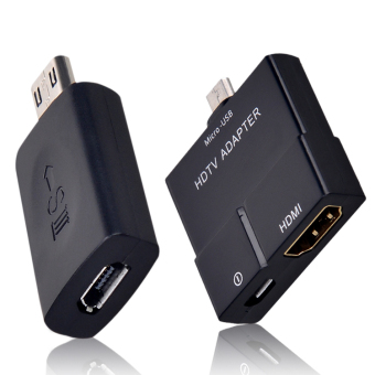 Harga Micro USB MHL to HDMI HDTV Adapter 5 Pin Female to 11 Pin Male Adapter