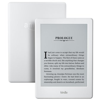 Harga Amazon KINDLE 8th Gen (With Special Offers, USA Edition 2016, 4GB, Wi-Fi, White)