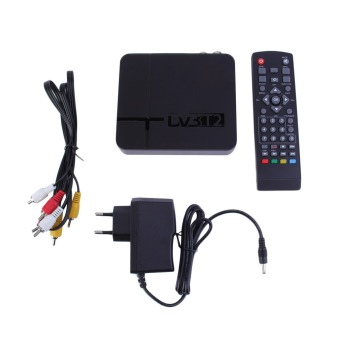 Harga UINN MIni HD DVB-T2 Digital Terrestrial Receiver Set-top Box Compatible with DVB-T