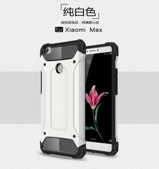Harga Luxury 2 in 1 Hybrid Durable Shield Armor Shockproof Hard Rugged Phone Case Cover For Xiaomi Mi Max - intl