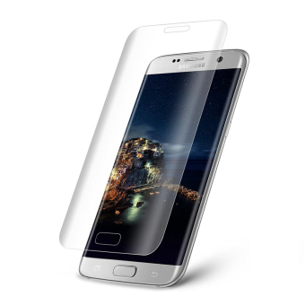 9H 3D Full Curved Screen Protector Tempered Glass Film for Samsung Galaxy S7 Edge Tempered Glass - Transparent