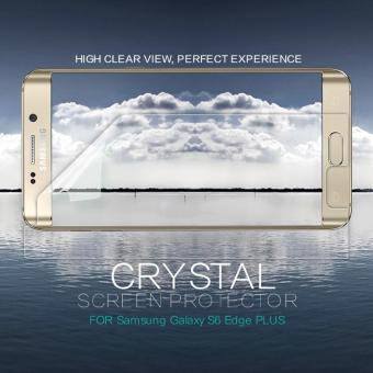 2 pcs/lot screen protector For Samsung Galaxy S6 Edge PLUS NILLKIN Crystal Super clear protective film 5.7 inch (clear) - intl