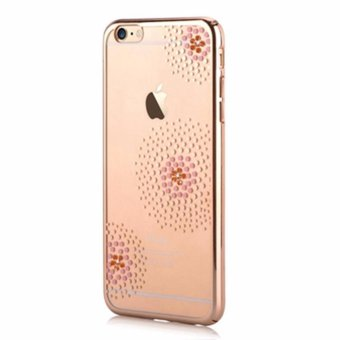 Sparkle Glitter Bling Luxury Diamonds Protective Hard PC Case Cover For Apple iPhone 6s/6 4.7 inch - intl