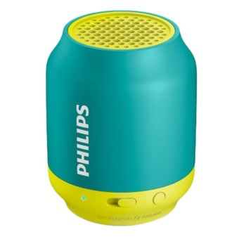 Harga PHILIPS Wireless Portable Speaker BT50A Aqua/Yellow