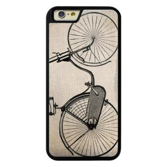 Harga Phone case for iPhone 6/6s Vintage Bicycle cover for Apple iPhone 6 / 6s - intl