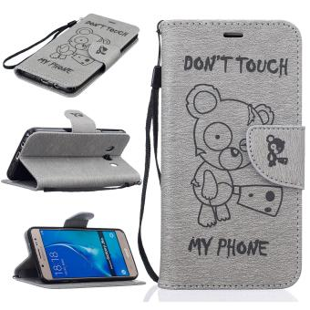 Harga Stand Wallet Purse Credit Card ID Holders Magnetic Flip Folio TPU Soft Bumper PU Leather Ultra Slim Fit Case Cover for Samsung Galaxy J5 2016 - intl