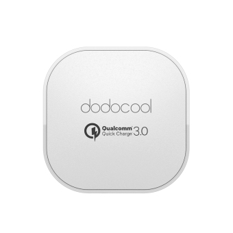 Harga [Qualcomm Quick Charge 3.0] dodocool Quick Charge 3.0 18W USB Wall Charger for LG G5 / HTC One A9 / Sony Xperia Z4 Tablet / Xiaomi Mi 5 / LeTV Le MAX Pro UK Plug (Intl) - intl(Neutral).