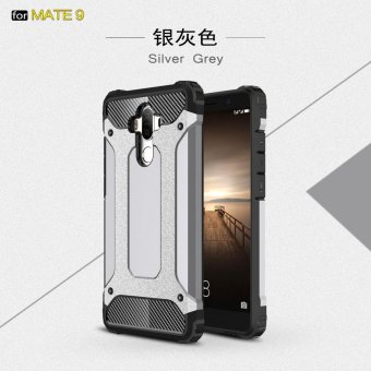 Harga Luxury 2 in 1 Hybrid Durable Shield Armor Shockproof Hard Rugged Phone Case Cover For Huawei Mate 9  - intl