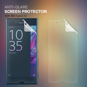 2 pcs/lot Matte Screen Protector For Sony Xperia XZ (5.2 inch) NILLKIN Anti-Glare protective film with retailed package (clear) - intl