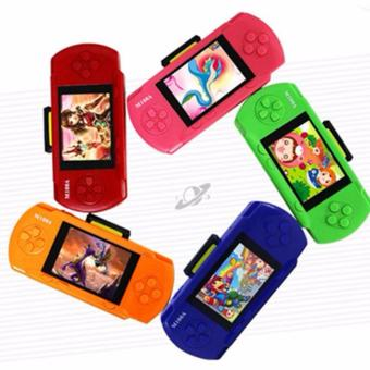 Harga Handheld Game Consoles 4.3 inch Colorful Display Game Console Player Games Support TV - intl