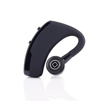 V9 Business Bluetooth Headset Earphone Voice Report Number Wireless Bluetooth Headphones Noise Cancelling Handsfree - intl