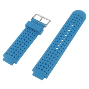 Harga Silicone Watch Strap for Garmin Forerunner 220 230 235 630 620 735XT with Pins & Tools - Blue - intl