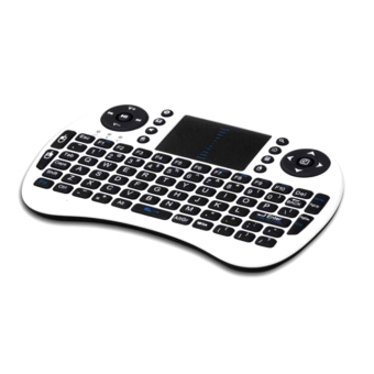 Harga Hot Rii Mini i8 Wireless Keyboard 2.4G with Touchpad for PC Android TV Box