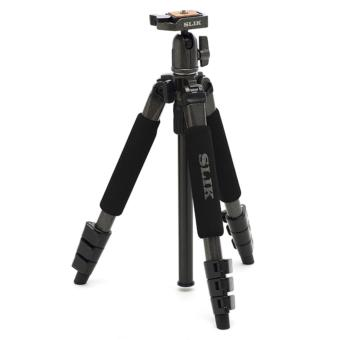 Slik Sprint Mini II GM 4-Section Tripod with SBH-100DQ Ballhead (Gunmetal)