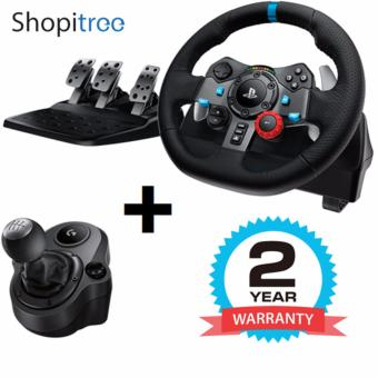 Logitech / G G29 Driving Force Steering Wheel + Shifter (for PS4/PS3/PC) + 2 Years Warranty