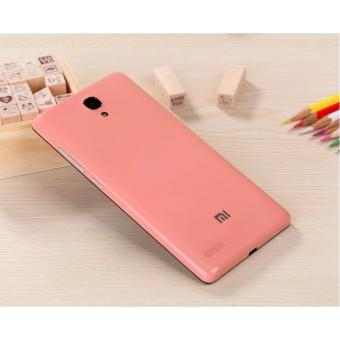 Harga (Pink) Back Battery Replacement Case Casing Cover for Redmi Note 3G / 4G