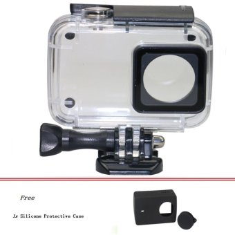 Diving 45m Waterproof Case for Xiaomi Xiaoyi YI Sports Camera II 2 Case Xiaomi YI 4K Action Camera 2 Protective Housing - intl