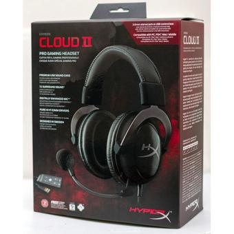 Harga Kingston HyperX Cloud II Headset (Gunmetal) HyperX Cloud II Pro Gaming Headset Black (KHX-HSCP-GM)