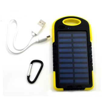 Harga Solar Portable Charger - (Yellow)