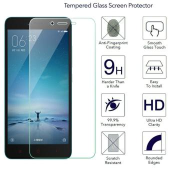 Harga Ueokeird 9H HD Clear Tempered Glass Screen Protector Film For Xiaomi Redmi Note 4 - intl
