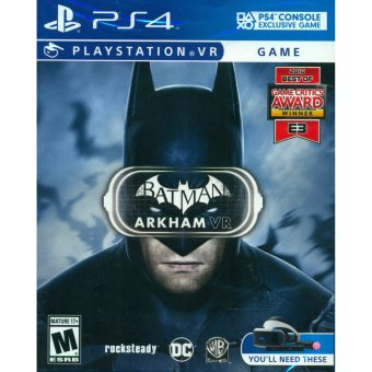 Harga PS4 Batman: Arkham VR / R1 (English)