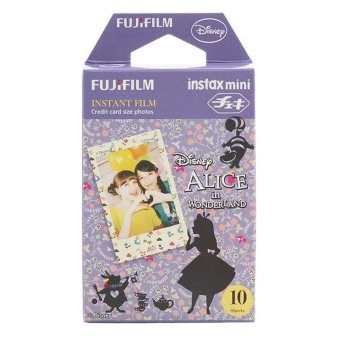 Harga Fujifilm Instax Mini Alice in Wonderland Instant Films - 10 Sheets