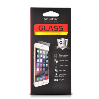 Harga Azustar Premium Grade Tempered Glass Screen Protector for Iphone 6/6S Plus