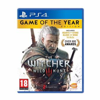 Harga PS4 The Witcher WIld Hunt (Game of the year Edn)(Gold)
