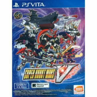 Harga PS Vita Super Robot Wars V / R3 (English)