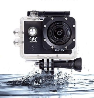 Harga Hot Sell Arrival! 4K Action Camera H9/H9R Ultra HD 4K Action Camera 30m Waterproof 2.0' Screen 1080p Sport Camera - intl