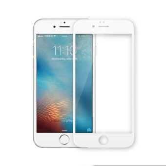 Nillkin 9H Anti-Explosion Film 3D Curved edge Full Coverage Tempered Glass Screen Protector For Apple iPhone 6 Plus /6s Plus(White) - Intl