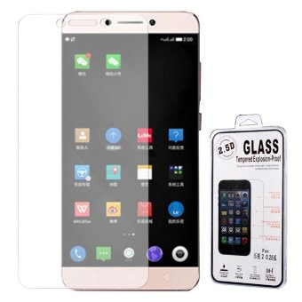 Harga 0.25mm Arc Edge Tempered Glass Screen Protector for LeEco Le 2/Le 2 Pro - intl
